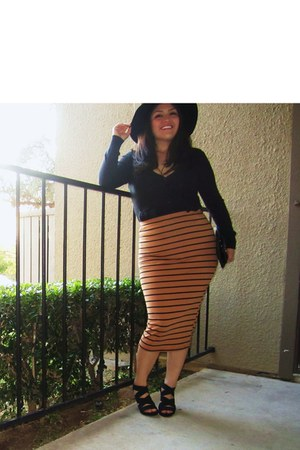 skirt - sweater