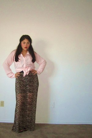 Forever21 pants - shiffon unknown blouse