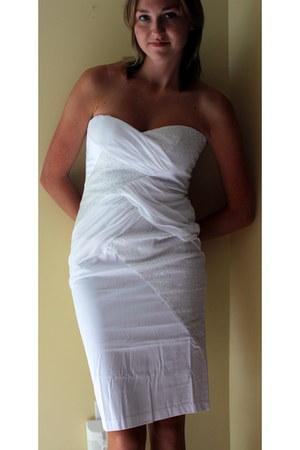 white Elise ryan dress