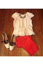H-m-shirt-asos-loafers-target-pants-forever21-necklace