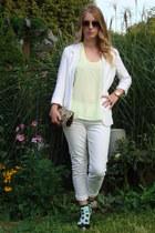 white Paige Premium Denim jeans - white Talula blazer