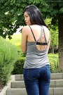 Navy-h-m-jeans-heather-gray-bershka-top