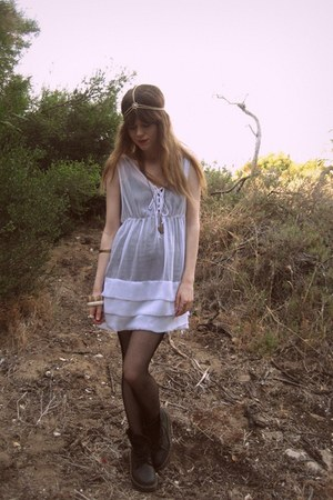 ladakah dress - Sportsgirl accessories - Dr Martens boots