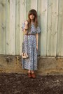 Vintage-dress-sportsgirl-bag-hobbs-clogs