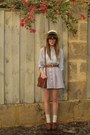 Hobbs-clogs-valleygirl-skirt-thrifted-bag-vintage-belt-sportsgirl-hat
