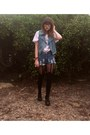 Henry-holland-tights-thrifted-shorts-princess-highway-vest