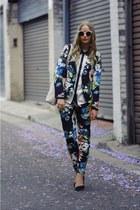 floral suit
