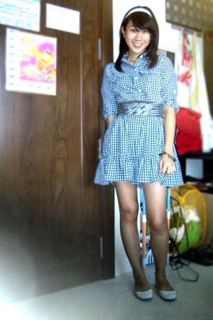Nectar dress - belt - Schu shoes