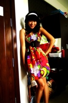 cocoon dress - tiangge belt