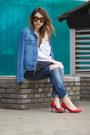 Pull-bear-jeans-etam-jacket-diy-bag-bershka-heels