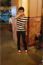 Topman t-shirt - reborn pants - Keds shoes - seiko accessories - accessories