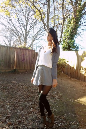 heather gray grey sweater H&M sweater