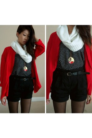 red red blazer