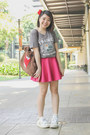 Hot-pink-eazy-fashion-skirt-red-sm-accessories-hair-accessory