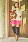 Ivory-vintage-sweater-navy-forever-21-socks-hot-pink-eazy-fashion-skirt