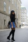 Black-h-m-boots-black-monki-sweater-navy-h-m-skirt