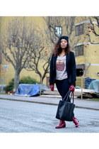 brick red PERSUNMALL boots - eggshell PERSUNMALL shirt - black PERSUNMALL bag