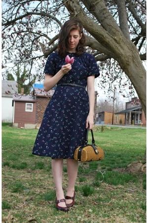 dress - purse - shoes
