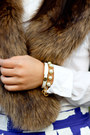 White-bangle-kate-spade-bracelet-leather-nine-west-boots