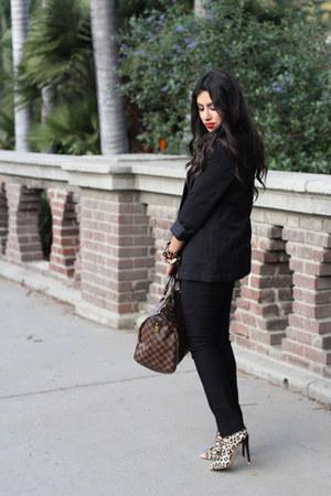 Louis Vuitton bag - heels