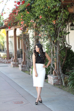 Sarine Marie skirt - Guess heels