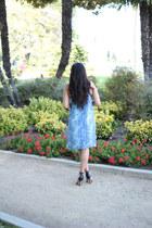 Kelly Wearstler dress - heels