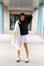 Urban-revivo-shoes-urban-revivo-sweater-american-apparel-skirt