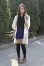 Nine-west-boots-topshop-dress-forever-21-socks-primark-cardigan