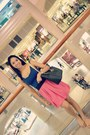 Michael-kors-purse-madden-girl-flats-zara-skirt-h-m-blouse
