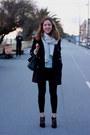 Black-lace-dolce-gabbana-boots-navy-vintage-coat-cream-zara-scarf