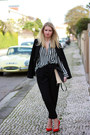 Black-zara-blazer-black-zara-bag-black-zara-blouse-red-zara-heels