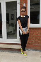 Harper & Masons bag - black Topshop t-shirt