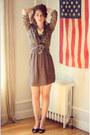 Zara-dress-josephine-chaus-shirt-gold-citrus-necklace-silvia-fiorentina-