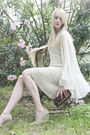 Cream-crochet-vintage-dress-cream-vintage-jacket