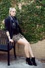 Black-ankle-carlos-by-carlos-santana-boots-black-boyfriend-thrifted-blazer