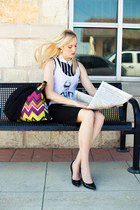 magenta striped missoni for target bag - black united colors of benetton blazer