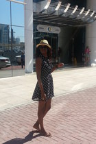 Forever21 dress - H&M hat - simple American Eagle sandals