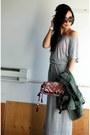 Heather-gray-maxi-heidi-klum-x-new-balance-dress