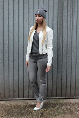 Cheap Monday jeans - Bershka jacket - H&M accessories