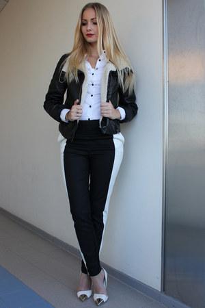 H&M jacket - H&M pants - Nelly pumps