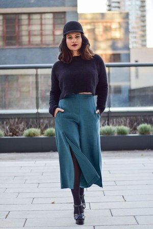 teal asos pants