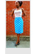 blue Style Icons Closet skirt