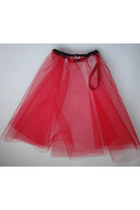 red Style Icons Closet skirt