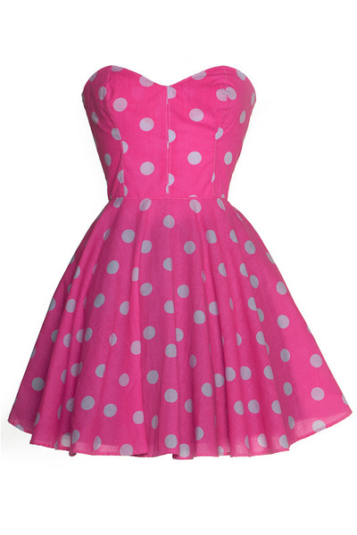 hot pink Style Icons Closet dress