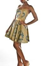 camel cotton Style Icons Closet dress