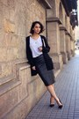 Black-asos-shirt-dark-brown-elisa-cortés-bag-black-twist-tango-cardigan