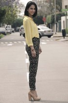 yellow yellow carolina sarda blouse - neutral t bar asoscom pumps