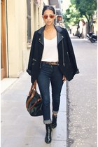 black Zara jacket