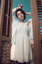 veil dress Zara dress