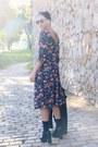 Floral-print-zara-dress